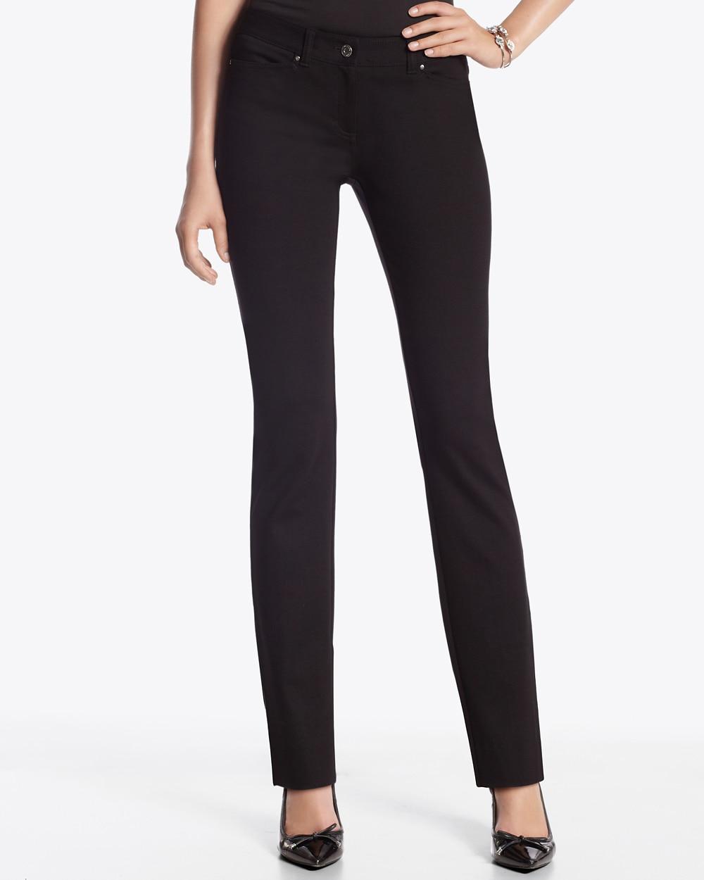 Womens Zip Pocket Ponte Trousers Wallis 4oAwqix