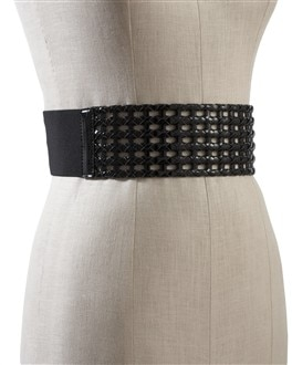 Patent Woven Stretch Belt
