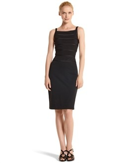 Banded Stretch Knit Sheath