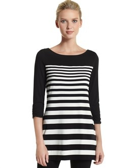 Boatneck Mariner Stripe Tunic