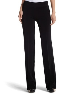 Side-Zip Boot Leg Pant