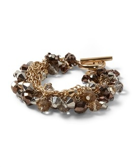 Mixed Metals Bauble Bracelet