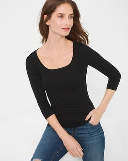 Seamless 3/4-Sleeve Tee