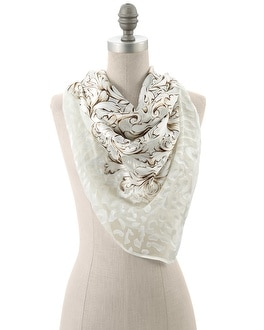 Burnout Square Scarf