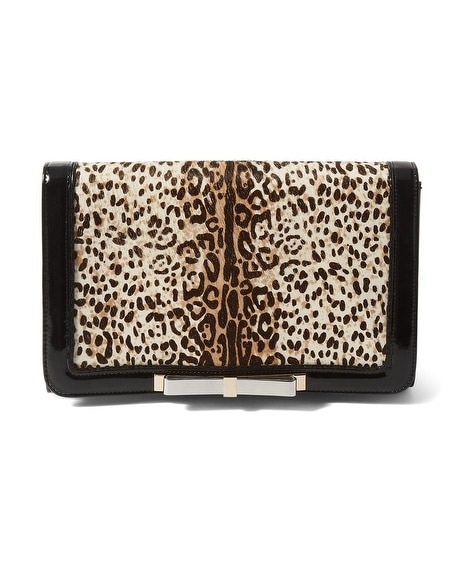Leopard Haircalf Bag