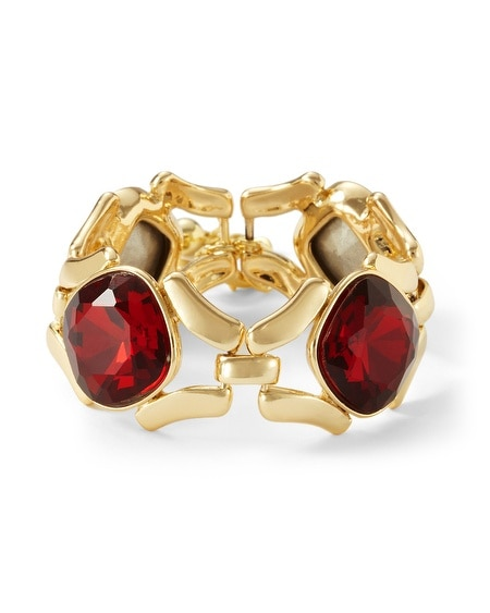 Red Jewel Bracelet