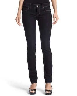 NOIR BLACK EMBROIDERED SLIM JEAN