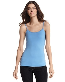 Sky Blue Scoop Neck Cami