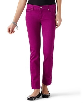 Blanc Berry Slim Ankle Jean