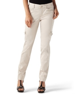 Sateen Cotton Cargo Pant