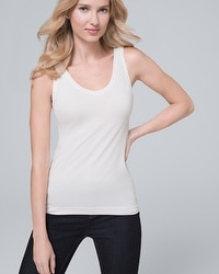 Dual Neck Essential Seamless Tank