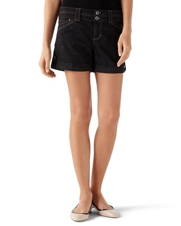 Blanc Crosshatch Trouser Short