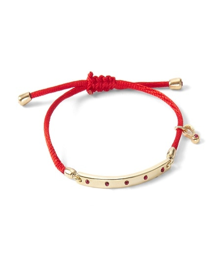 2013 Red Creating Miracles Bracelet