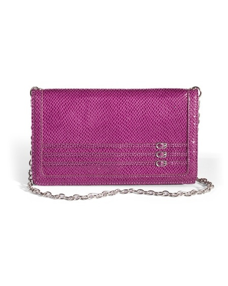 Berry Tri-Fold Clutch