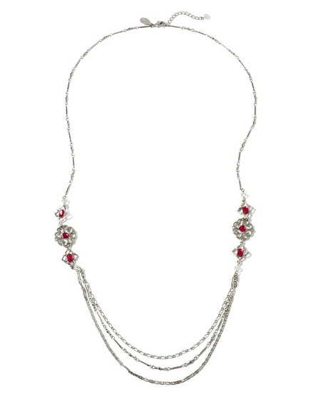 Berry Long Necklace