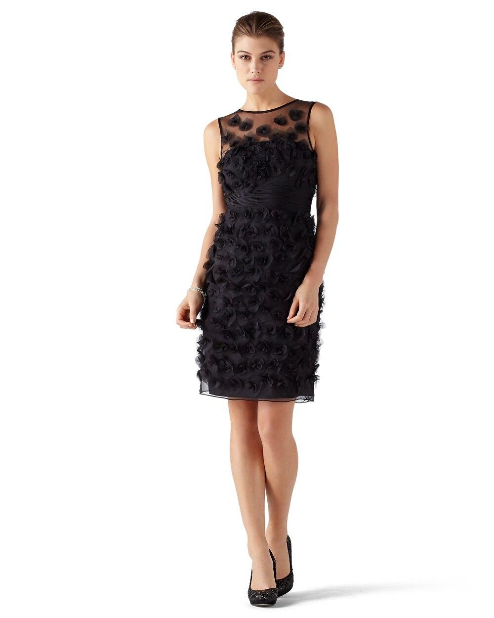 Black White Party Dresses