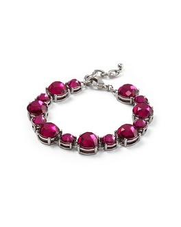 Faceted Very Berry Bracelet