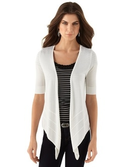 White Lightweight Tie Coverup