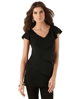 Tiered Solid Tunic
