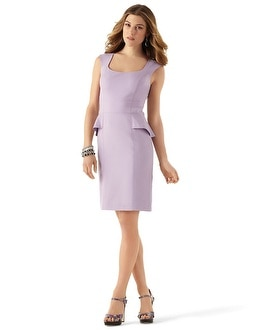 Chic Lilac Sheath