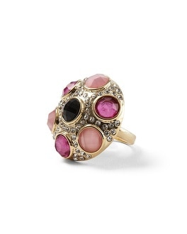 Berry Mixed Stone Ring