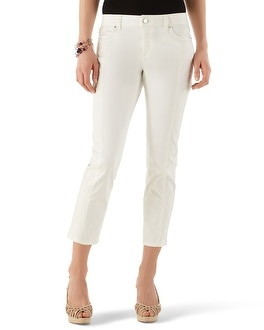 White Sateen Crop