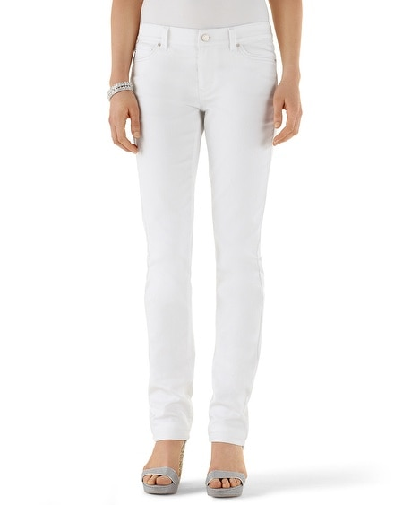 Blanc Essential Slim Ankle Jean