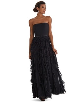 Waterfall Tiered Gown