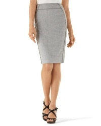 Gray Suit Skirt
