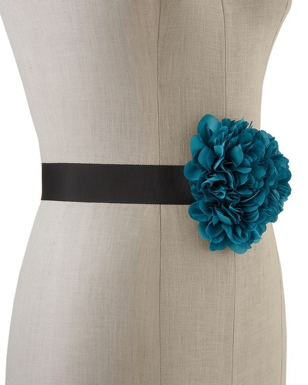 Lagoon Triple Flower Sash
