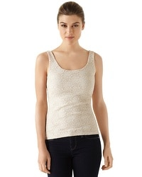 All-Over Lace Pearl Dust Cami