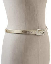 Mixed Metal Stud Metallic Belt