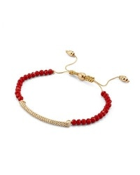 Flame Pave Friendship Bracelet