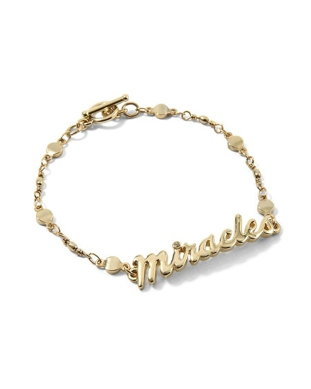 2013 GIVING MIRACLES BRACELET