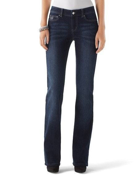 Contour Embellished Bootcut Jean