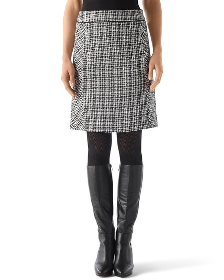 Boucle Tweed Skirt