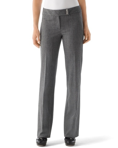 Heather Tweed Pant