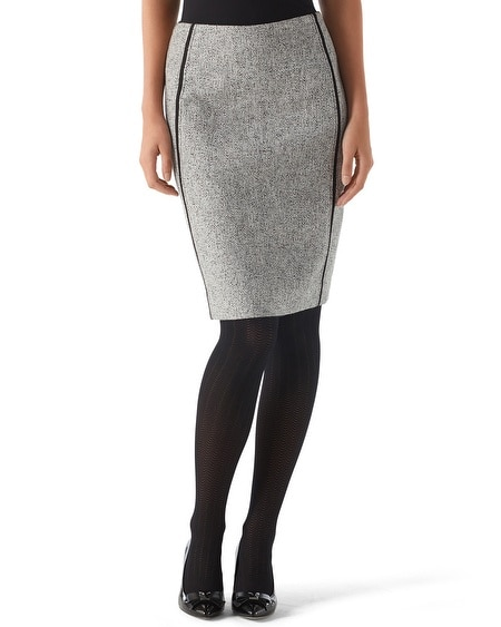 Mod Tweed Pencil Skirt