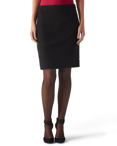 Short Ponte Pencil Skirt