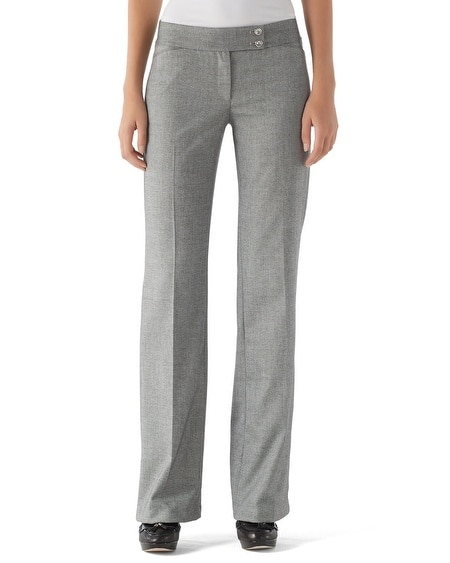 Refined Tweed Pant