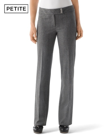 Petite Heather Tweed Pant