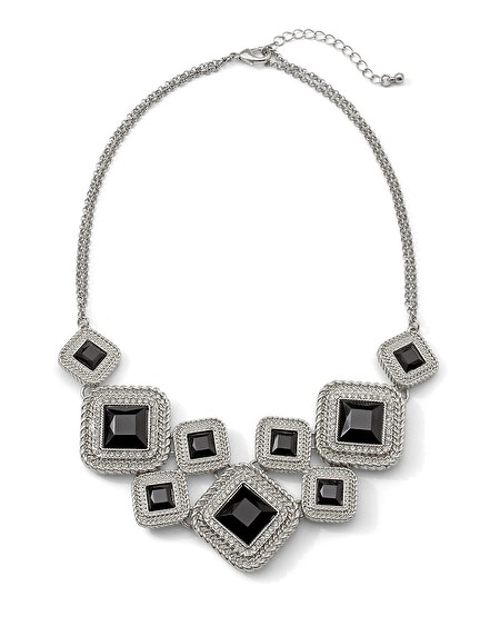 Call Me Cubist Deco Necklace