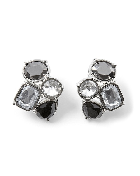 Play With Shapes Crystal Earring