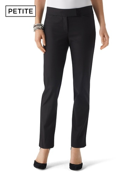 Petite Perfect Form Tux Ankle Pant