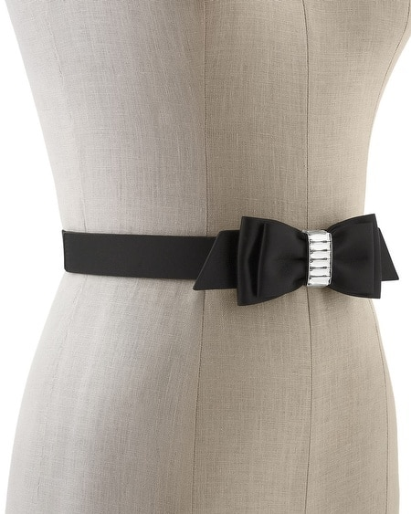 Satin Bow Belt