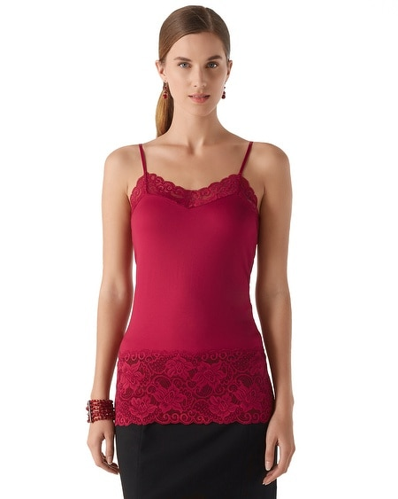 Wide Lace Cami