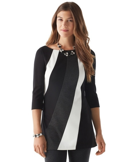 Colorblock Ponte Tunic