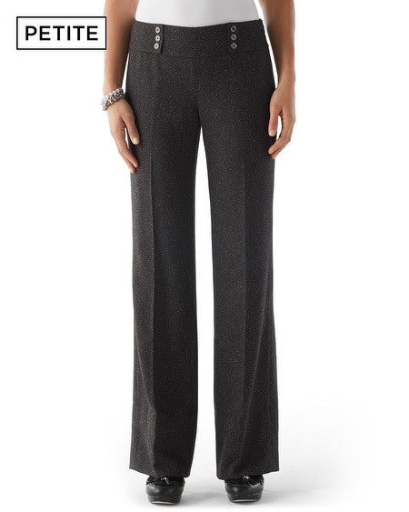 Petite Donegal Tweed Pant