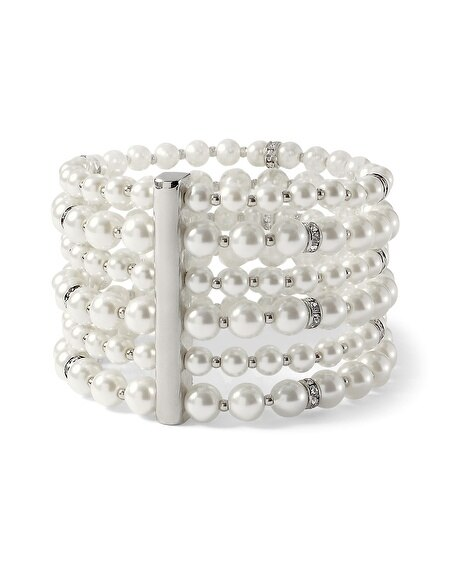 Pearly Stretch Bracelet