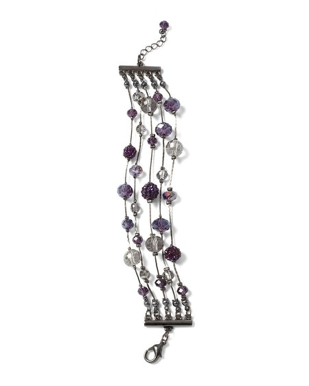 Imperial Purple Fireball Bracelet